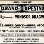 Windsor Dragway Ticket