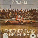 Checker Flag Program Cover - 1973
